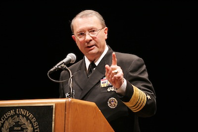 Admiral Edmund P. Giambastiani, former vice chairman of the US Joint Chiefs of Staff.