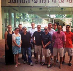 SPL students in Herzliya, Israel
