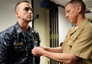 Congratulations To LT Tom Caruso (JD/MPA U002714; Curricular Program In  National Security And Counterterrorism Law) Who, In May 2017, Received The  Navy And ...