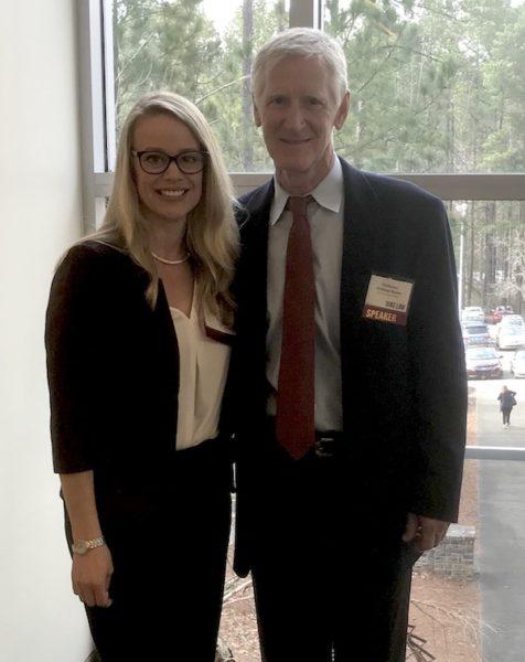 Bill Banks and Erin Wirtanen