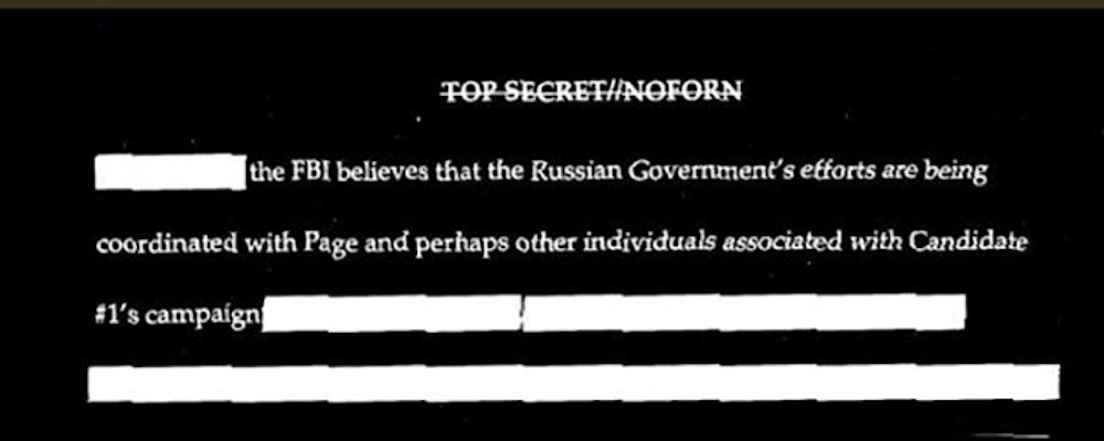 FISA Warrant