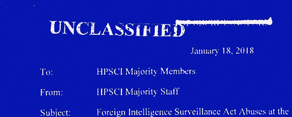 FISA Declassification