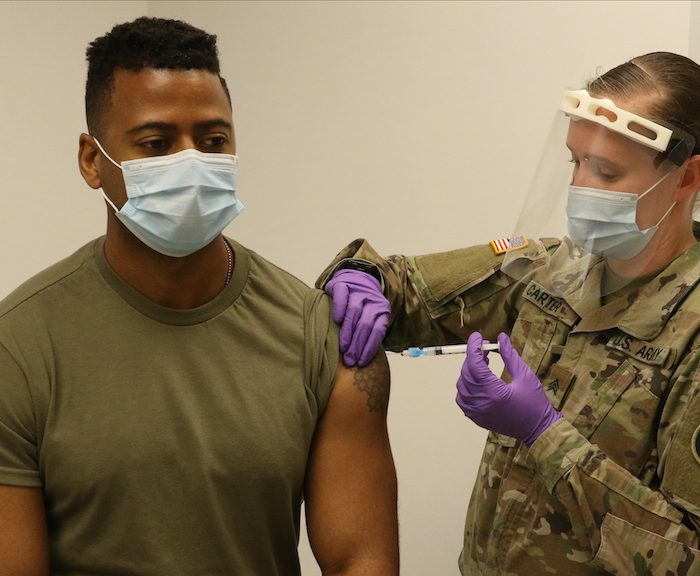Military vaccinations